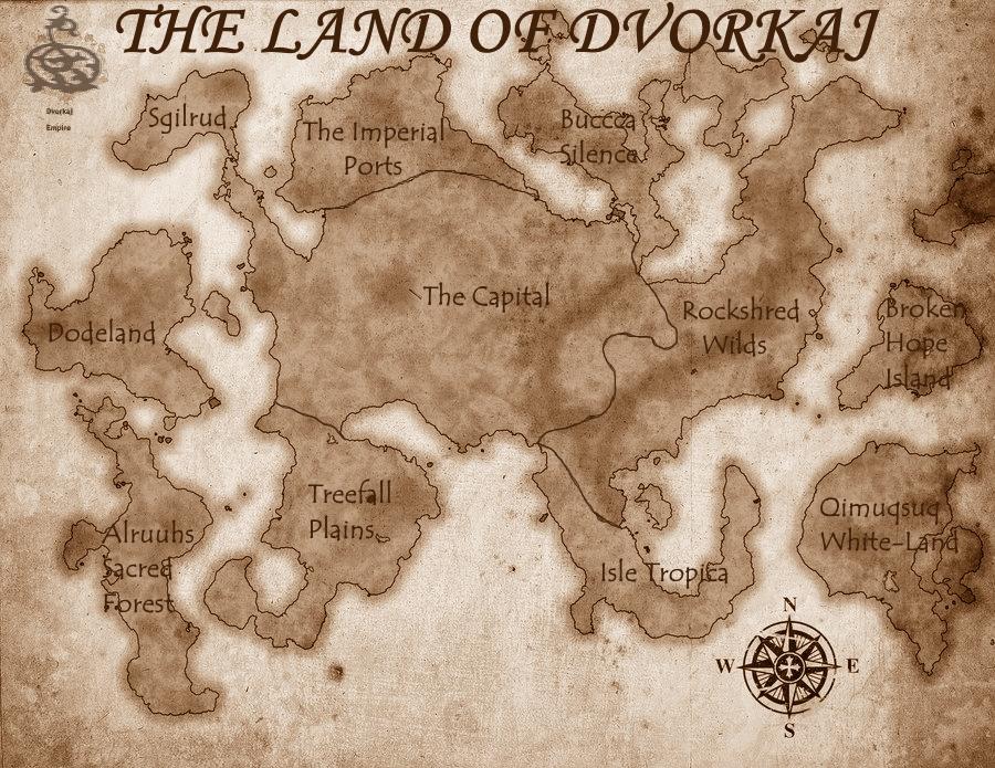 Dvorkaj Map by Kierbrony