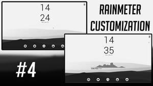 Rainmeter Desktop Customization #4
