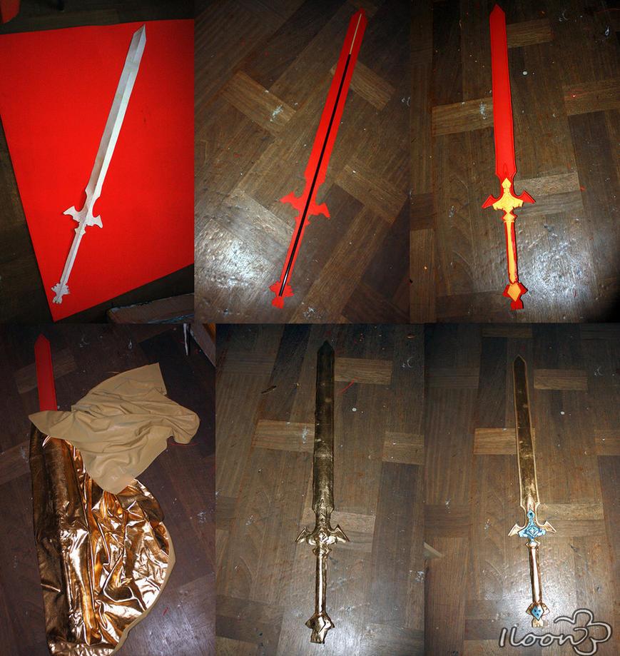 Not a tutorial! ] diy crappy larp sword fix part 1 youtube.