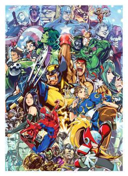 Marvel vs capcom 3 _fanart