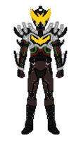 NightRogue (with Brown Undersuit) by Zyuoh-Eagle