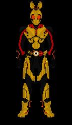 Kamen Rider Zero One / Gold Hopper by Zyuoh-Eagle