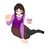 Casual Girl Pixel