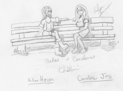Caroline and Aika - Chillin'