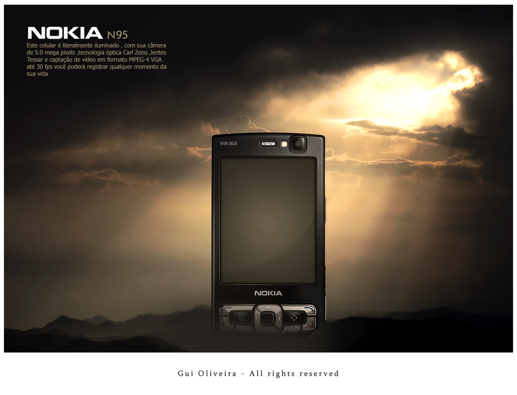 Nokia n95 by guishox