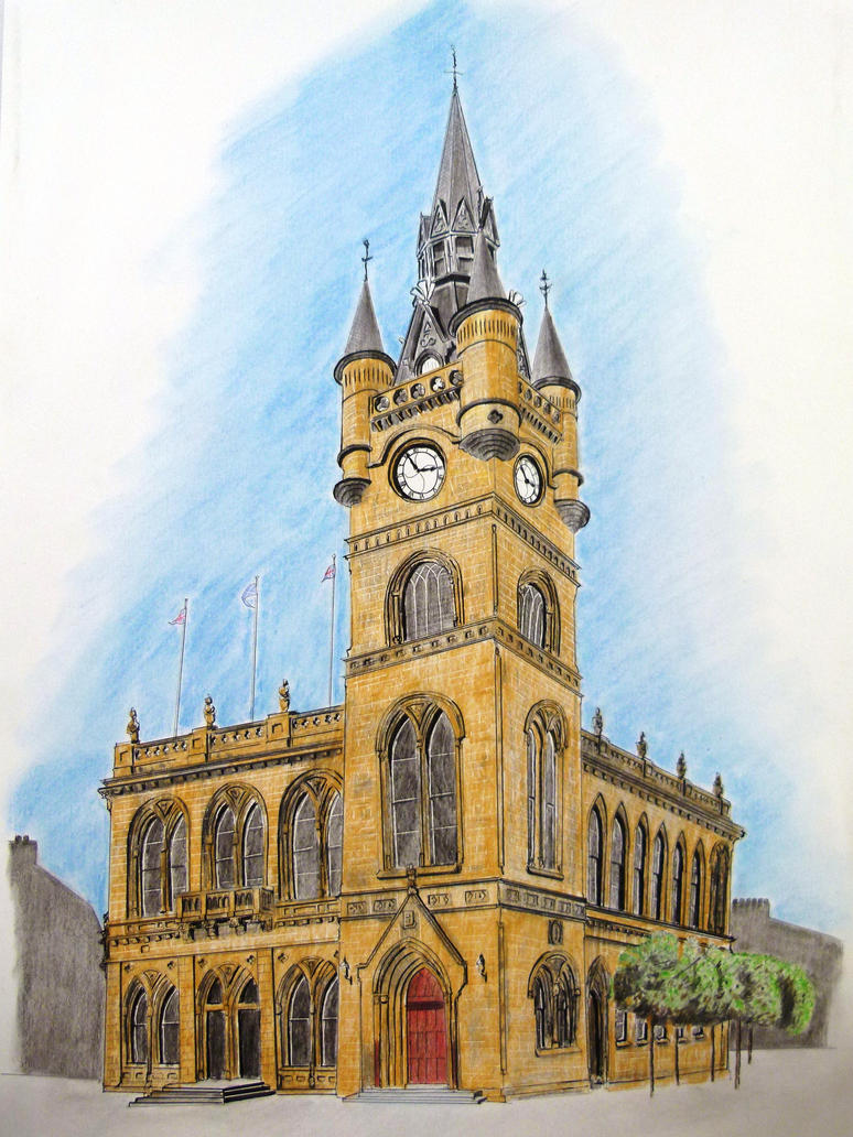 Renfrew Town Hall (Scotland) by Jack7176