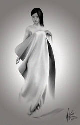 old movie cloth