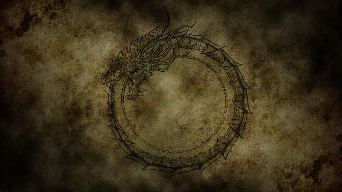 Ouroboros Old by Draco100190