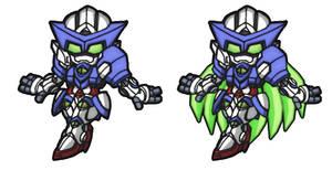 SD EVE Gundam