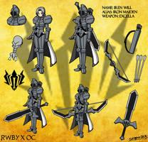 RWBY X OC The Iron Maiden by ZeroSenPie
