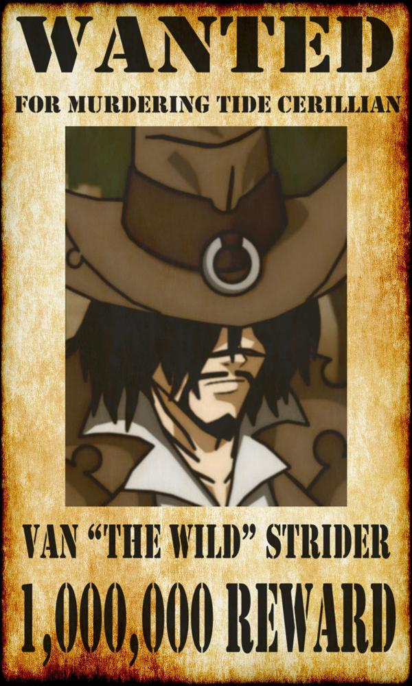 RWBY X OC Van The Wild Strider by ZeroSenPie