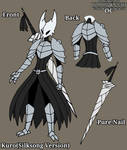 Hollow Knight OC Kuro's New Design