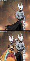 Hollow Knight OC Kuro and his family