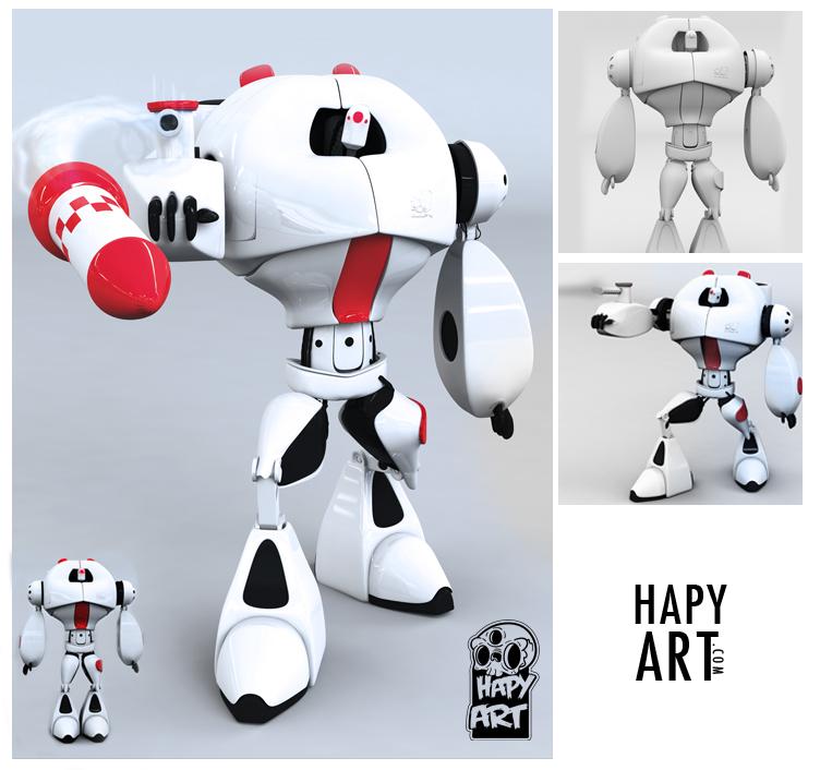 robot by xHAPYx