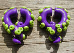 Day of the tentacle earring