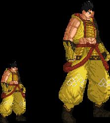Sengoku Basara - Ieyasu Tokugawa (SB3) Sprite