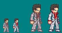 Kazuma Kiryu - Card Saga Wars Style