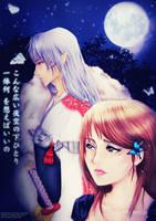 Under the night sky by Hoshino-Arashi