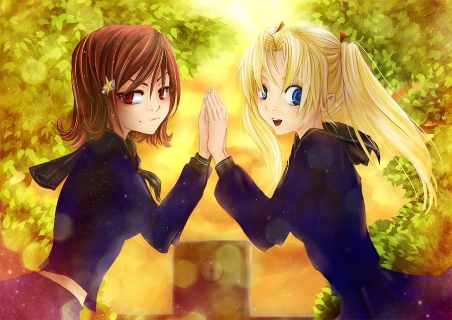 friends forever by hoshinoarashi on deviantart
