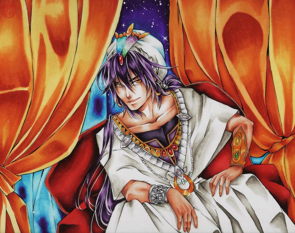 Sinbad .:Legendary:. MAGI by Hoshino-Arashi