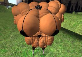 Uber Huge SL muscle by MuTheta9