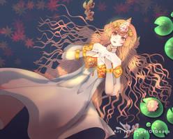 Ophelia, the koi fish princess