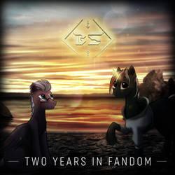 Two Years In Fandom by BlankShade98