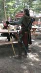 Ranger Costume - From Rear