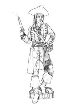 Sarah Rose Black, Pirate Queen
