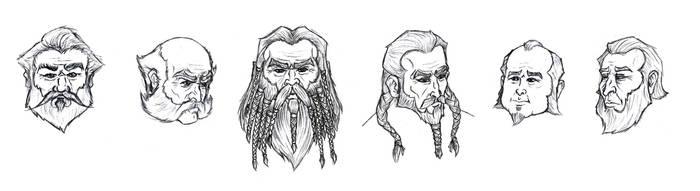 Dwarf Facial Study
