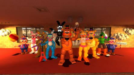 [Fnaf] The Toy Animatronics Version 2