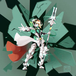 Cyber elf warrior