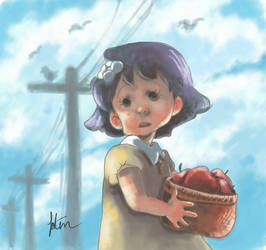 apple girl by fonon83