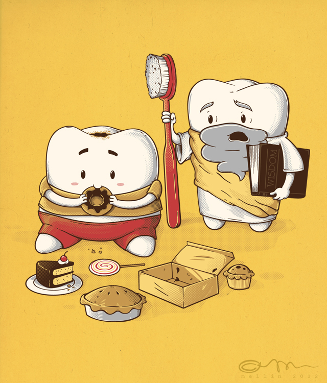 my sweet tooth never listens to my wisdom tooth by temy0ng