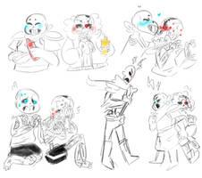 Cherryberry Sketches by Evieebunl25