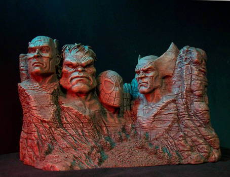 Marvel Heroes and Villains bookends