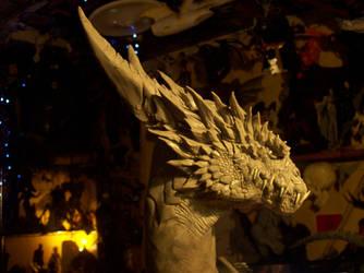Great  Dragon (in-rogress) by GabrielxMarquez