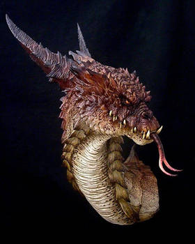 Great Dragon bust