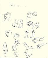 Meece Study by Snifkin-n-Sensei
