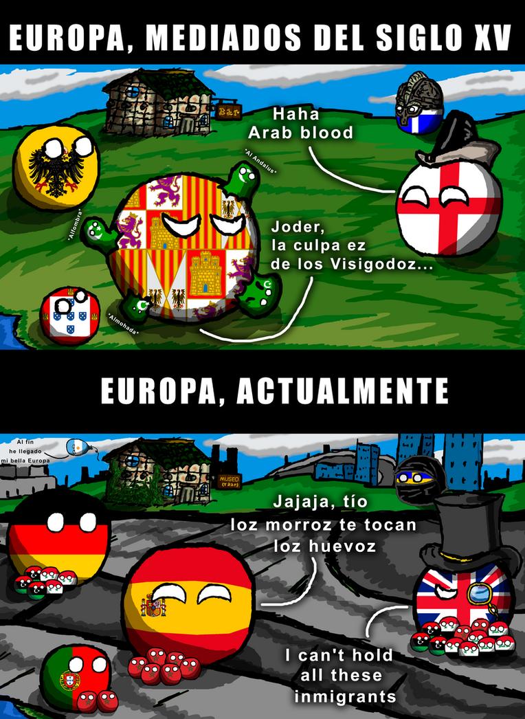 Migraciones en Europa by ArsOla