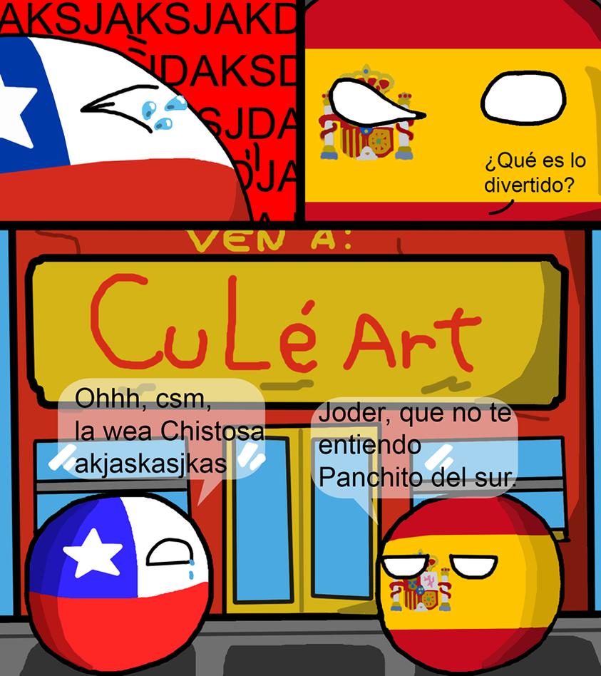 Chile y Espania, diferencias del idioma by ArsOla