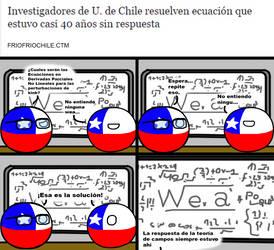 Chile y teoria de campos by ArsOla