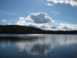 Blue Lake by Piikkisika