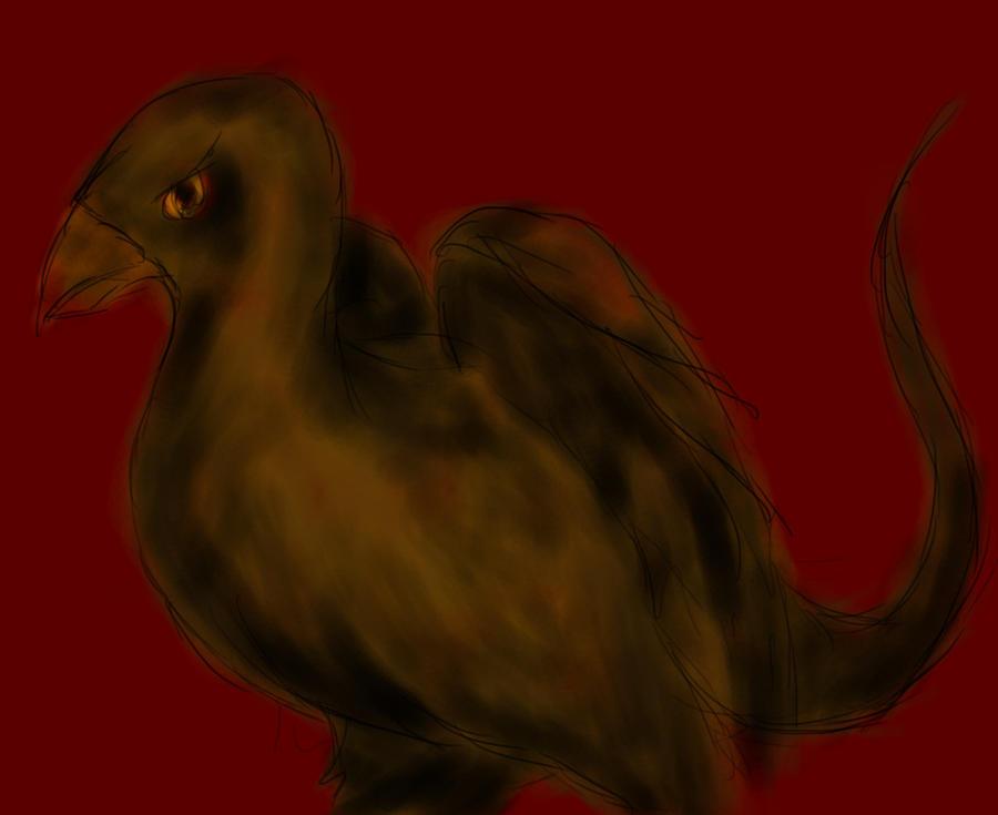 Bird Creature by Lebiro