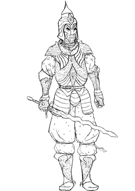 Breton Knight by Lebiro