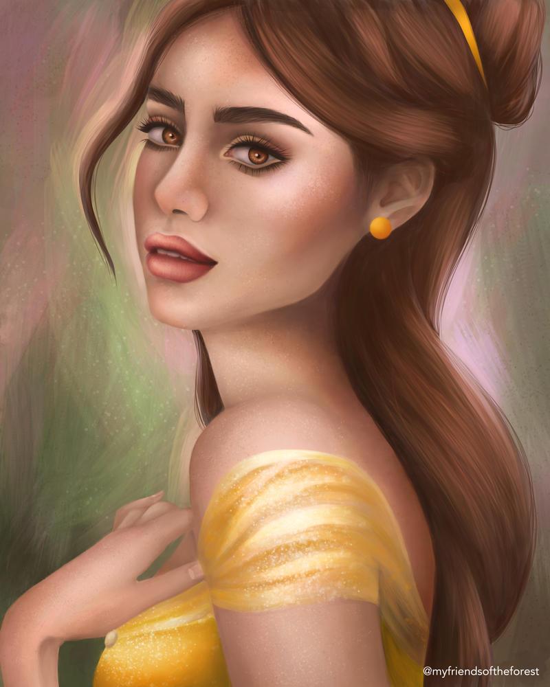 Belle by myfriendsoftheforest