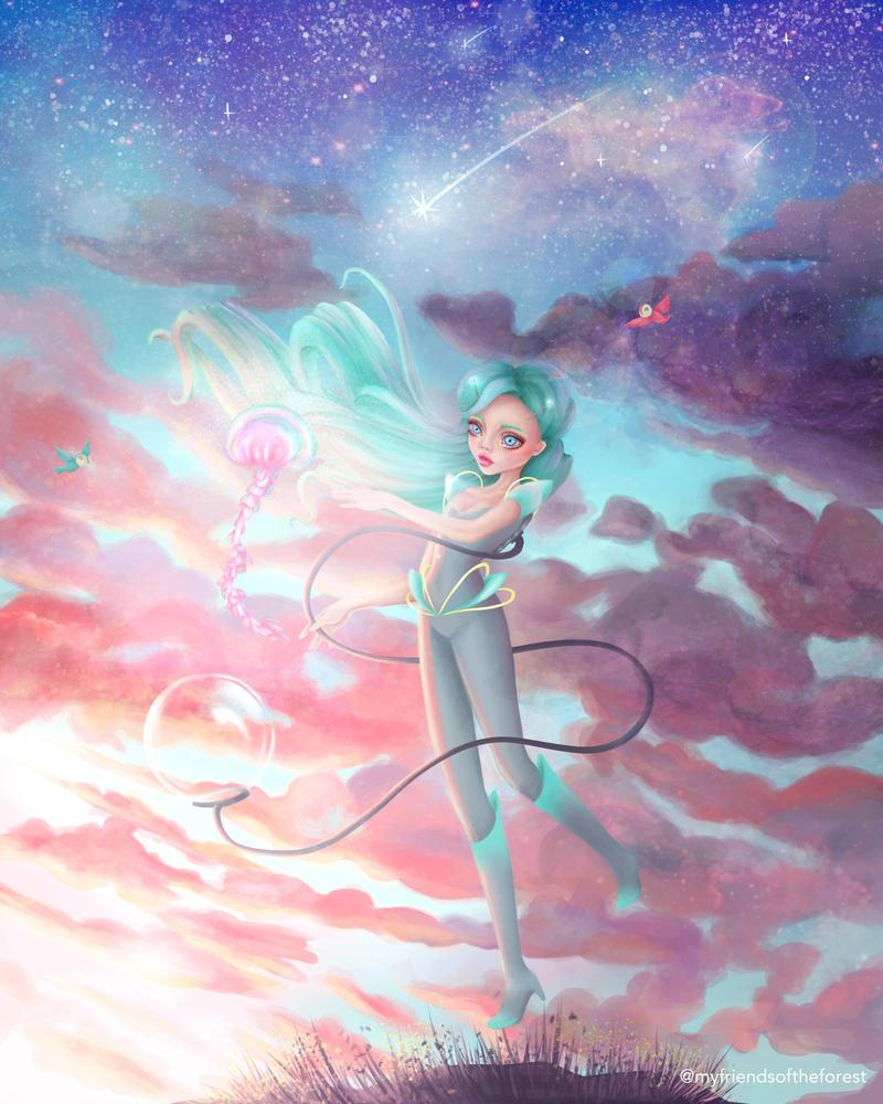 Nebula by myfriendsoftheforest