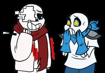 'Oh my gosh! Are you okay?' by randompasserbyer