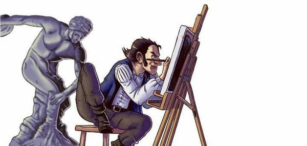 studio di pittura by Lucas-Knukle
