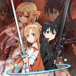 Sword Art Online [Kirito-Asuna] by DarkAnime-OP
